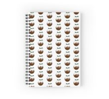 Christmas puddings Spiral Notebook