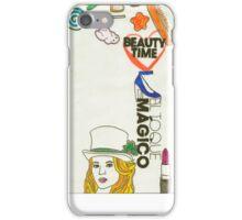 sweet girl iPhone Case/Skin