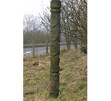 the scottish totem pole Photographic Print
