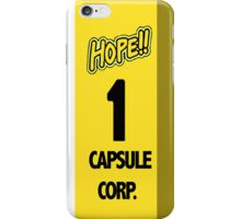 Capsule Corp Time Machine Phone Case iPhone Case/Skin