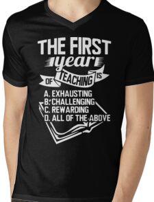 Teacher - The First Year of Teaching Mens V-Neck T-Shirt