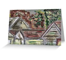 ACEO Rooftops Greeting Card