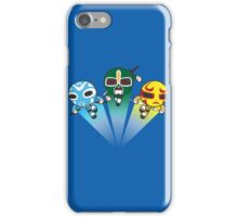 3 Ninjas Puff back iPhone Case/Skin
