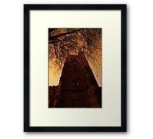 Gothic London Framed Print