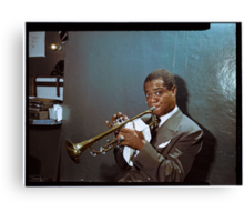 Louis Armstrong, 1946 Canvas Print
