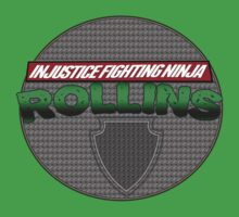 INJUSTICE FIGHTING NINJA ROLLINS by realitybitesgfx