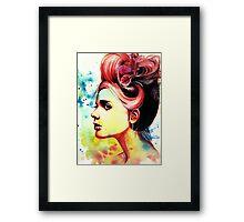 Crimson Framed Print