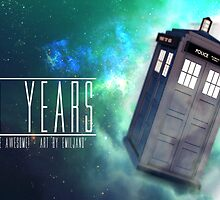 Those 50 Years - Doctor Who by FlyMillytoMars