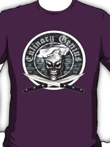 Skull Chef: Culinary Genius T-Shirt