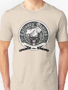 Skull Chef: Culinary Genius T-Shirt