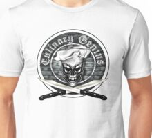 Skull Chef: Culinary Genius Unisex T-Shirt