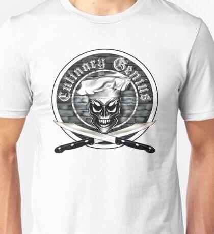 Skull Chef: Culinary Genius Unisex T-Shirt