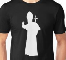 Pope Silhouette  Unisex T-Shirt