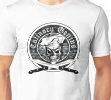 Skull Chef: Culinary Genius 3 Unisex T-Shirt