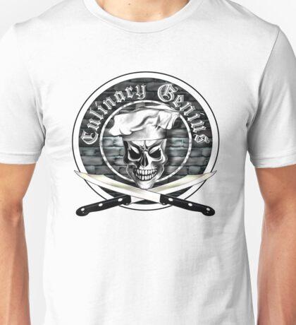 Skull Chef: Culinary Genius 3 Unisex T-Shirt
