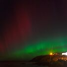 Aurora over Portpatrick (2) by Tim Haynes