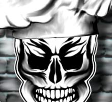 Skull Chef: Culinary Genius 5 Sticker