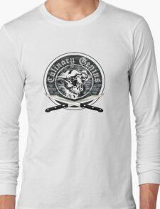 Skull Chef: Culinary Genius 7 Long Sleeve T-Shirt