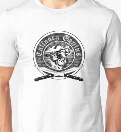 Skull Chef: Culinary Genius 7 Unisex T-Shirt