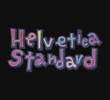 "Nichijou ""Helvetica Standard"" Kids Tee"