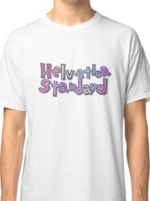 "Nichijou ""Helvetica Standard"" Classic T-Shirt"