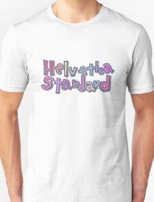 """Nichijou """"Helvetica Standard"""" T-Shirt"""
