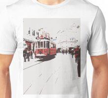 tram in Beyoglu Unisex T-Shirt