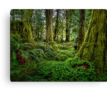 It's All About The Green Canvas Print