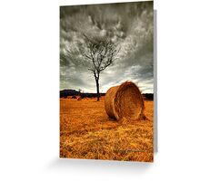 """""""Rolling Thunder"""" Greeting Card"""