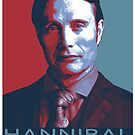 Hannibal Lecter by 666hughes