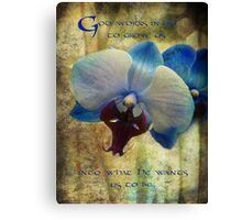 God works in us Canvas Print
