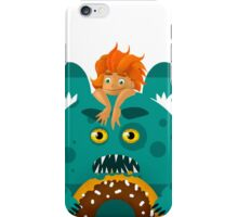 children monsters iPhone Case/Skin