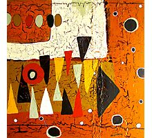 1974 Abstract Photographic Print