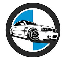 E46 M3 Enthusiast Photographic Print