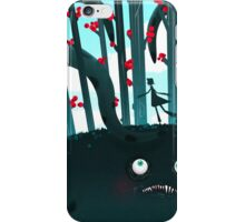 Tentacular monster iPhone Case/Skin