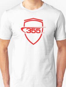 Ferrari 355 / Large Shield / Red Unisex T-Shirt