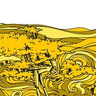 yellow wood by gigaillustrator