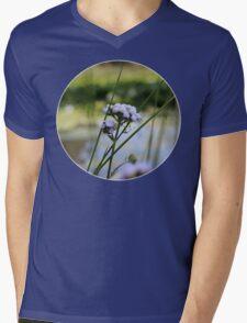 Paint flower Mens V-Neck T-Shirt