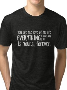 HIMYM - Barney Stinson quote Tri-blend T-Shirt