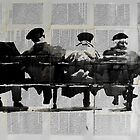 park bench by Loui  Jover