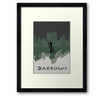 Arrow minimalist work Framed Print
