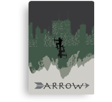 Arrow minimalist work Canvas Print