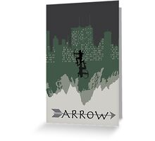 Arrow minimalist work Greeting Card