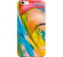 Swirling Rainbow.  iPhone Case/Skin