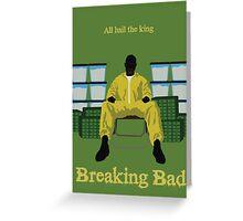 Breaking Bad minimalist work Greeting Card