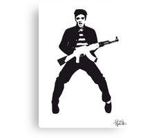 Rockin Elvis Canvas Print
