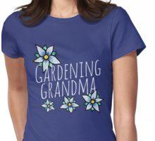 Gardening Grandma Womens Fitted T-Shirt