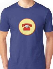 Phone Red Unisex T-Shirt