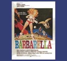 'Barbarella' Cult Classic Starring Jane Fonda vintage foreign promo art by RighteousTees