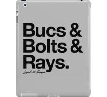 Loyal to Tampa (Black Print) iPad Case/Skin